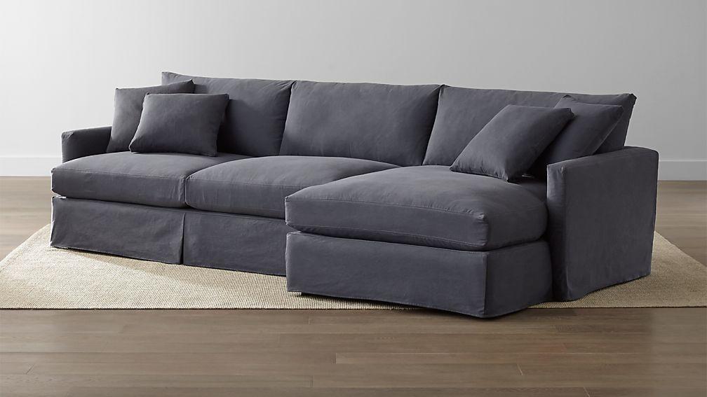 Lounge II Slipcovered 2-Piece Sectional Sofa
