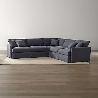 Lounge II Slipcovered 3-Piece Sectional Sofa