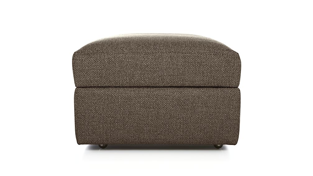 Lounge II Petite Ottoman and a Half with Casters