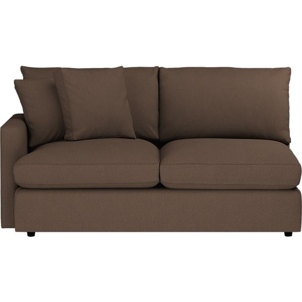 Lounge Left Arm Sectional Apartment Sofa