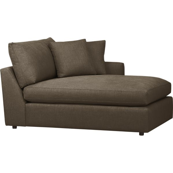 Lounge right arm sectional chaise in clearance furniture for Chaise lounge clearance