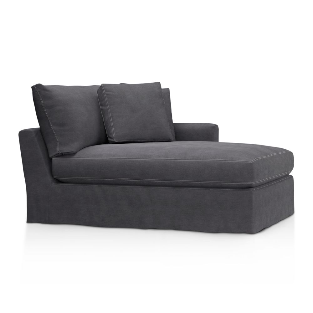 Furniture living room furniture chaise lounge double for Arm chaise lounge