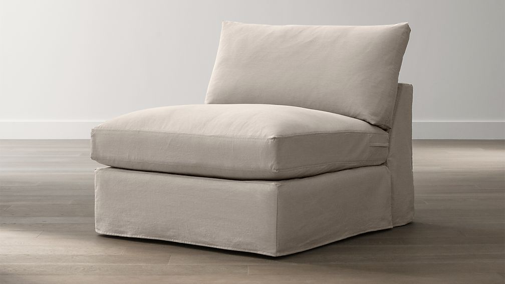 """Slipcover Only for Lounge 37"""" Armless Chair"""