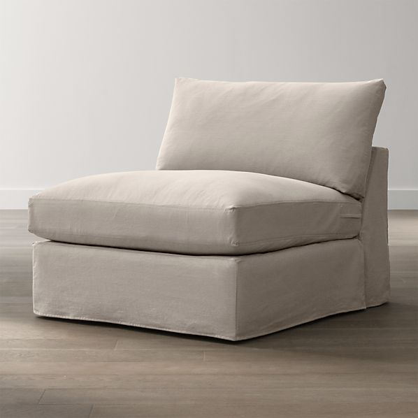 "Slipcover Only for Lounge 37"" Armless Chair"
