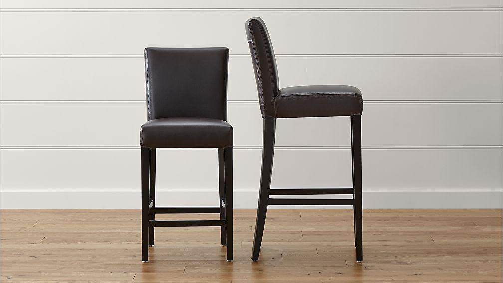 restaurant bar stools leather 2