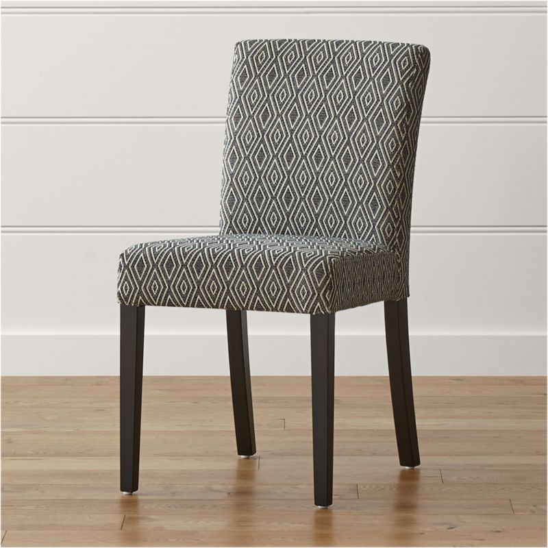 Crate And Barrel Dining Room Chairs: Lowe Diamond Upholstered Dining Chair
