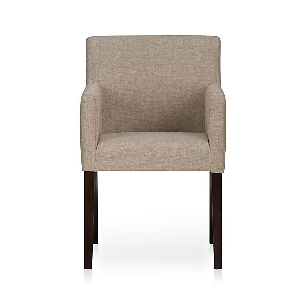 Lowe Khaki Arm Chair