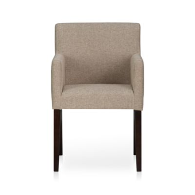 Lowe Khaki Arm Chair