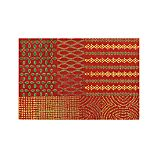 Lula Orange Wool 6'x9' Rug