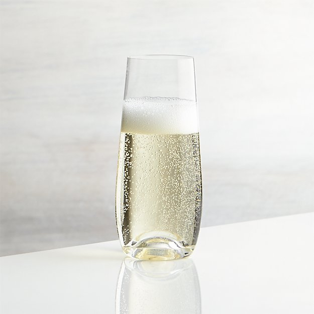 Lulie Stemless Champagne Glass