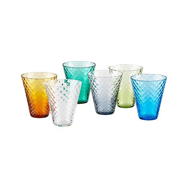 Set of 6 Lula Cordial Glasses