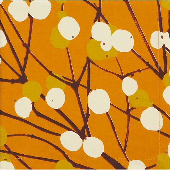 Marimekko Lumimarja Orange Napkin