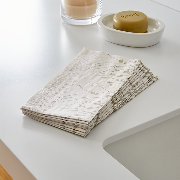 Set of 16 Lumimarja Paper Guest Towels