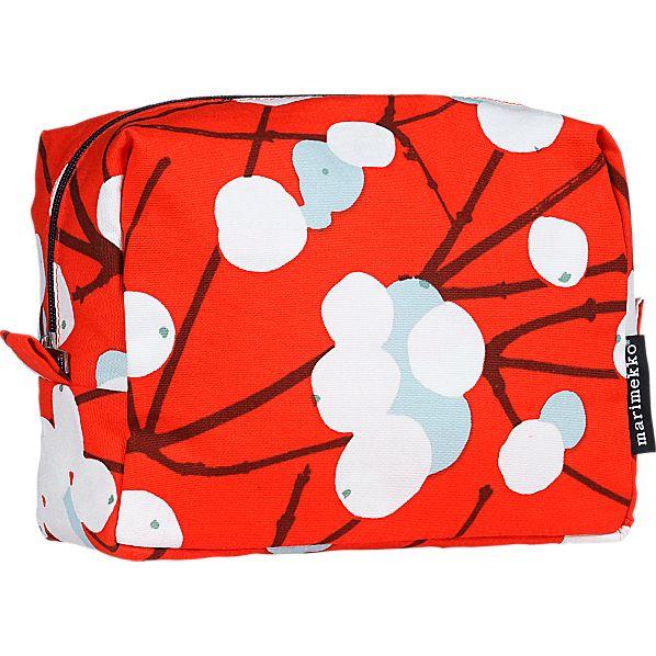 Marimekko Lumimarja Verso Cosmetic Bag