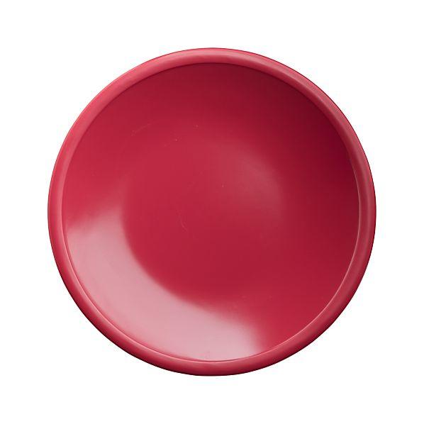 "Lunea Melamine Pink 6"" Appetizer Plate"