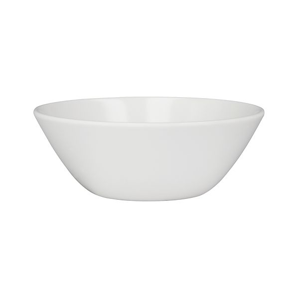 "Lunea Melamine White 6.25"" Individual Bowl"