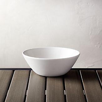Lunea Melamine White 6.25" Individual Bowl