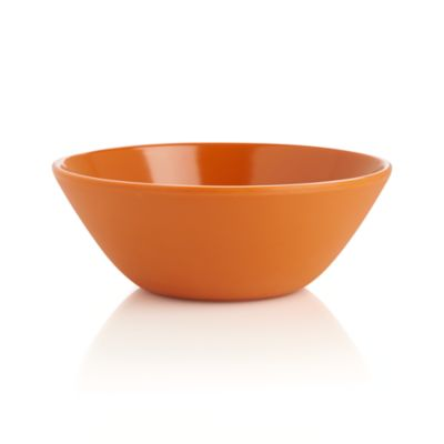 Lunea Melamine Orange Bowl