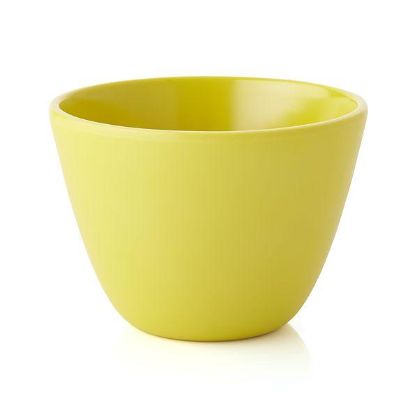 Lunea Melamine Yellow Dip Bowl