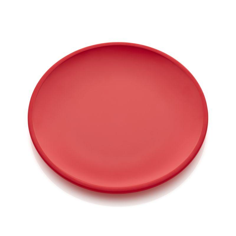 Lunea Melamine Red Dinner Plate