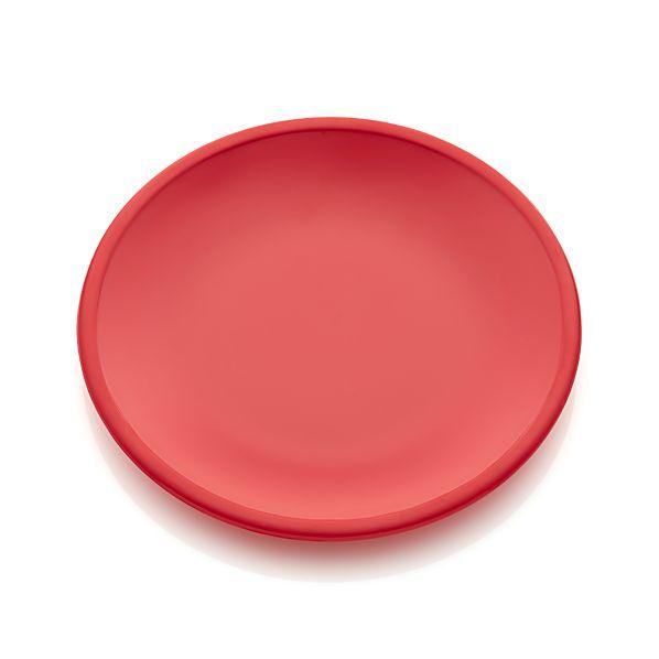 Lunea Melamine Red Salad Plate