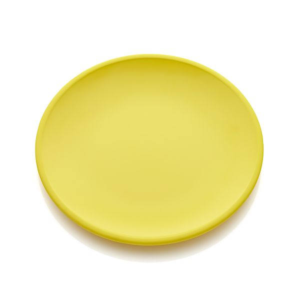 Lunea Melamine Yellow Dinner Plate