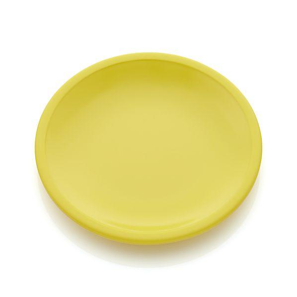 Lunea Melamine Yellow Appetizer Plate