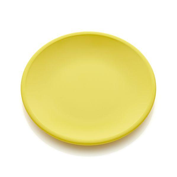 Lunea Melamine Yellow Salad Plate