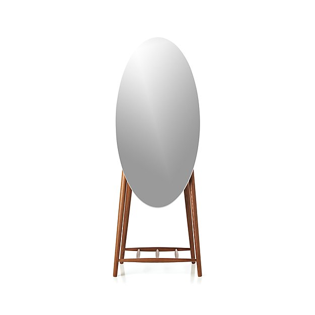 Luxley Oval Floor Mirror