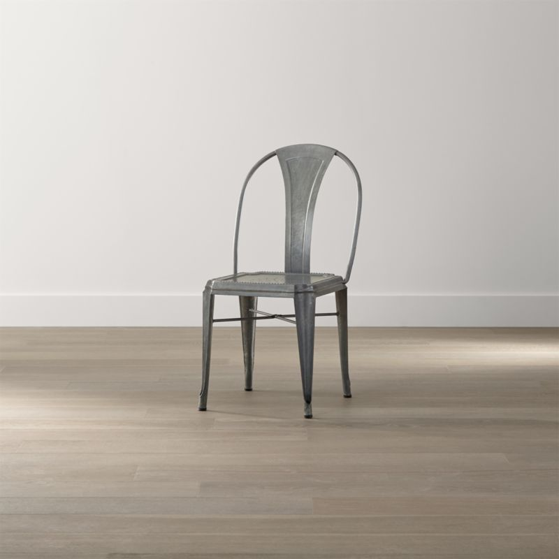 Crate And Barrel Dining Room Chairs: Lyle Metal Dining Chair