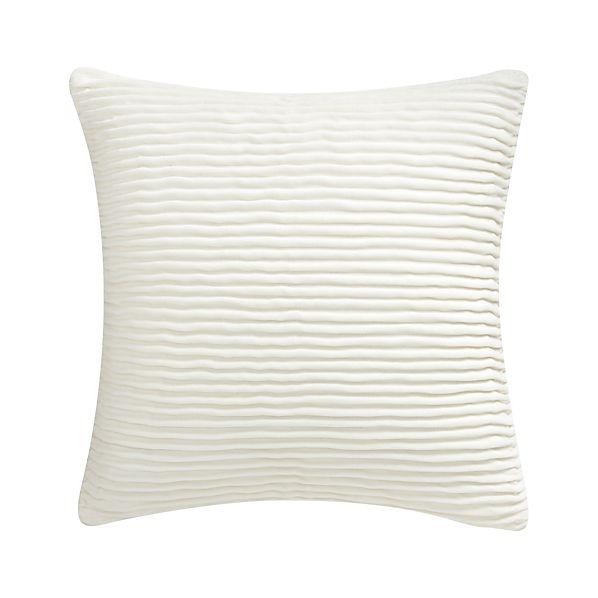 "Lyra Ivory 20"" Pillow"
