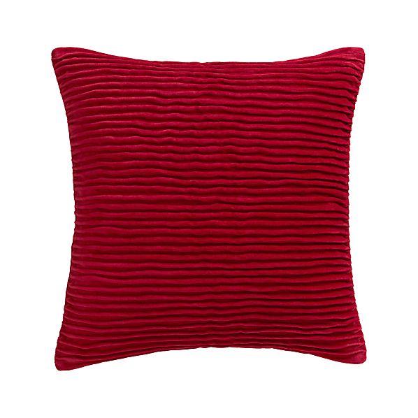"""Lyra Red 20"""" Pillow"""