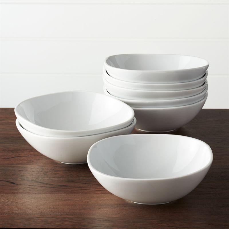 Set Of 8 Maddie Soup Bowl Crate And Barrel