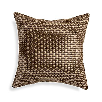 "Maddox Cocoa Brown 18"" Pillow"