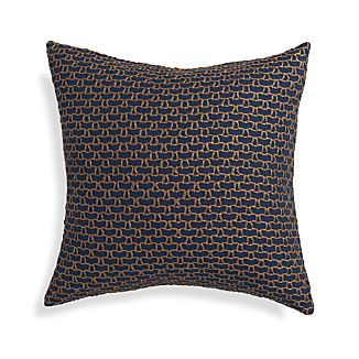 "Maddox Indigo Blue 18"" Pillow"