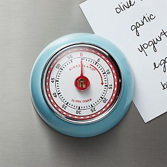 Magnetic Light Blue Kitchen Timer