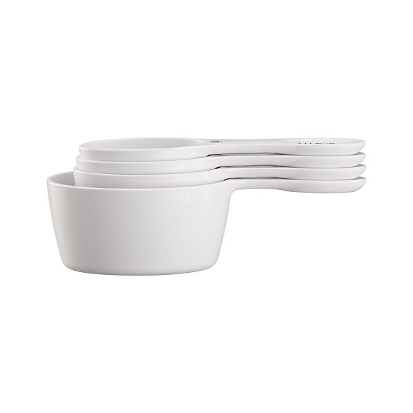 Set of 4 Magnetic Oval Measuring Cups