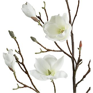 Magnolia Artificial Flower Stem
