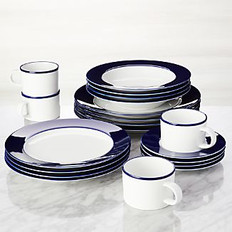 Maison Cobalt Blue 20-Piece Dinnerware Set