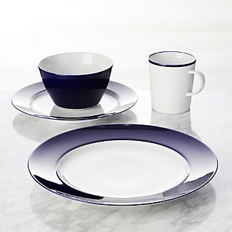 Maison Cobalt Blue 4-Piece Place Setting