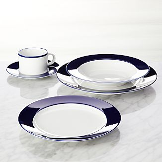 Maison Cobalt Blue 5-Piece Place Setting
