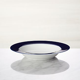 Maison Cobalt Blue Low Bowl
