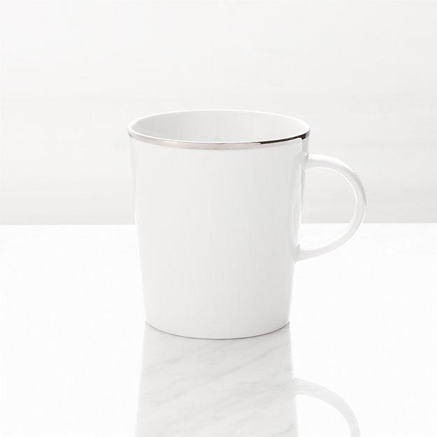 Maison Platinum Rim Mug