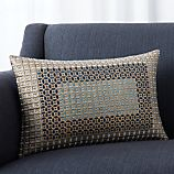 """Maja 18""""x12"""" Pillow with Feather-Down Insert"""