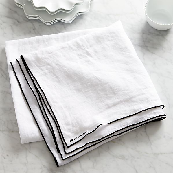 "Mallorca Linen 60""x90"" Tablecloth"