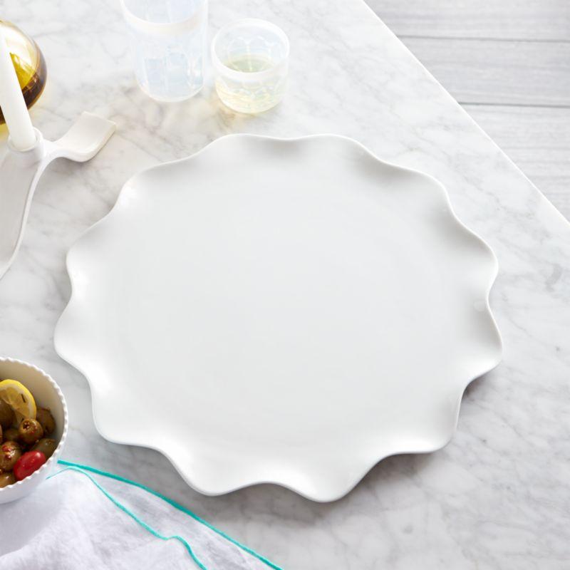 Mallorca Round Platter