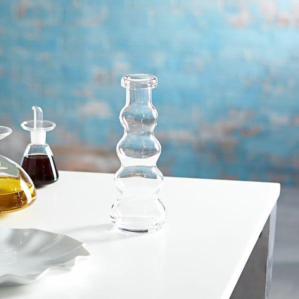 Mallorca Short Glass Vase