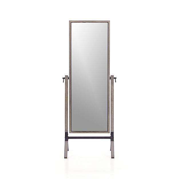 Malvern Cheval Floor Mirror Crate And Barrel