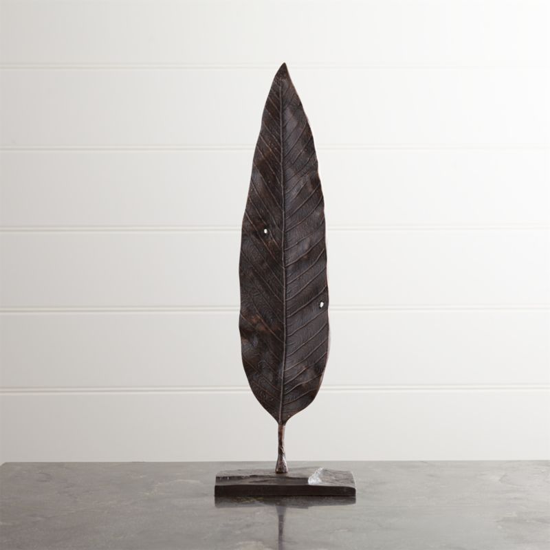 Mango Leaf On Stand