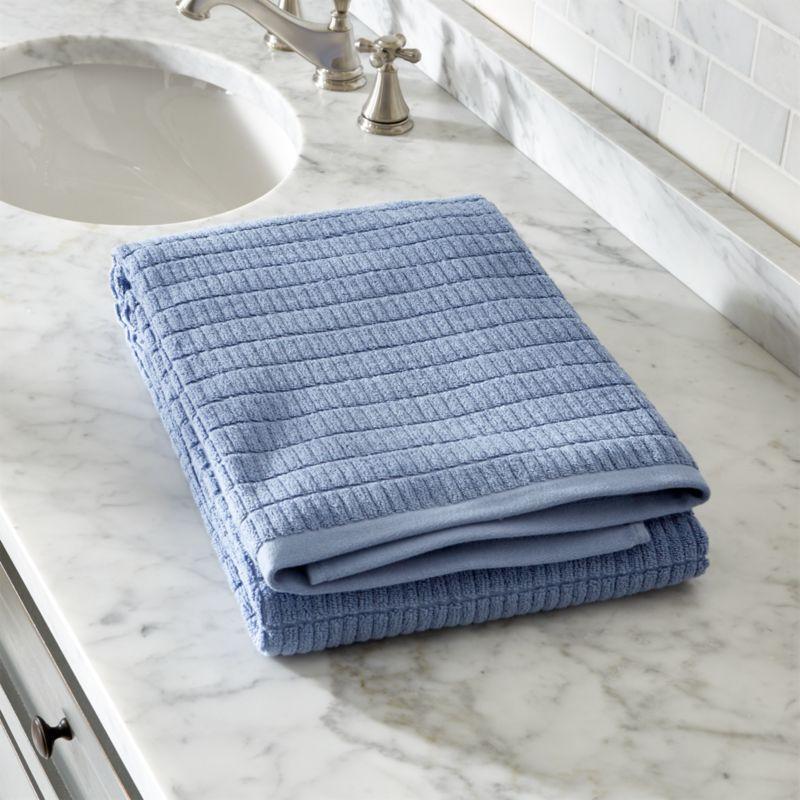 Manhattan Blue Bath Sheet